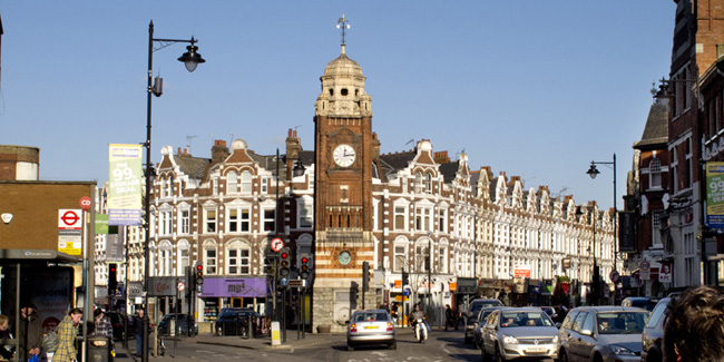 The Clock Tower and a Crouch End Panorama